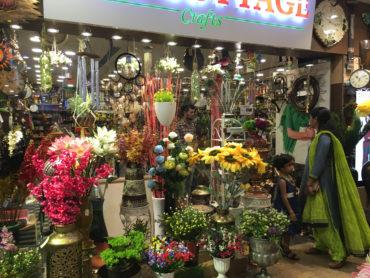 インドの花屋