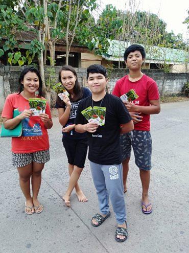 どうすればコミュニティに貢献できますか。(フィリピン)